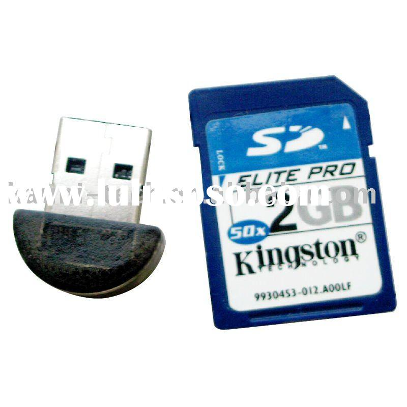 Mini Bluetooth USB dongle/bluetooth adapter, Class1/2, ISSC/CSR chipset(CE, FCC and ROHS)