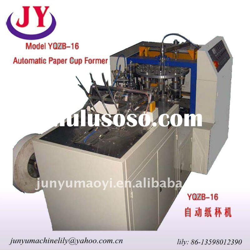 Model YQZB-16 paper cup making machine prices Automatic Paper Cup Former
