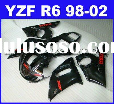 Motorcycle Fairings kit For Yamaha YZF-R6 1998-2002 ABS
