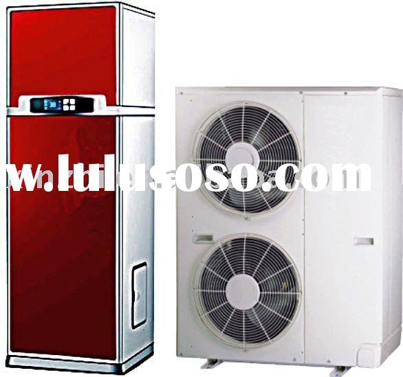 Multi heat source & multi functional air to water heat pump ( split type )
