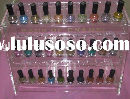 Nail Enemal Stand&Nail Polish Acrylic Display/Rack/Stand Makeup Organizer