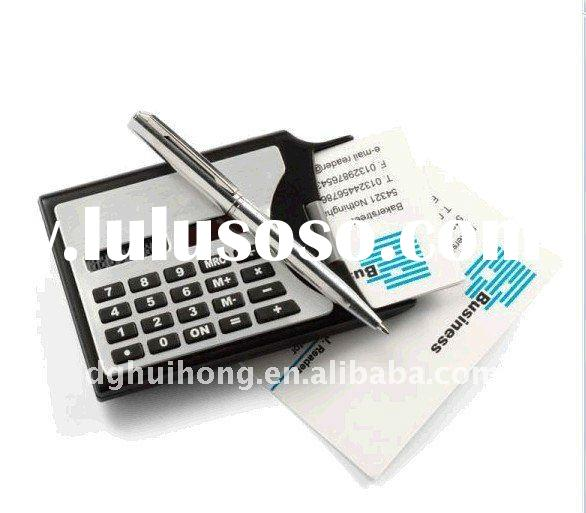 Name Card Calculator with pen(HJ-1019)