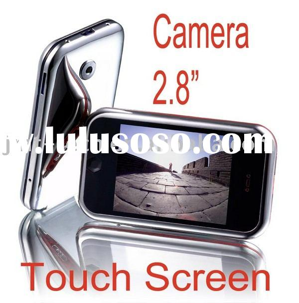 "New 2.8"" Touch screen mp4 Portable Digital Medai Audio Multimedia Camera DV Player Fm Rdaio Pmp"