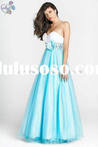 New OEP0016 Organza Sweetheart Ball Gown Wholesale Prom Dresses