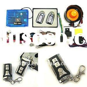One Way Remote Car Anti Theft Alarm Security System