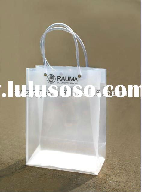 PP/PVC/CPP plastic shopping bag/advertising shoping bag/handle shopping bag