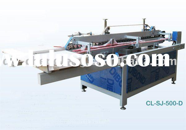 PVC, PET, PP Plastic Box Folding and Gluing Machine