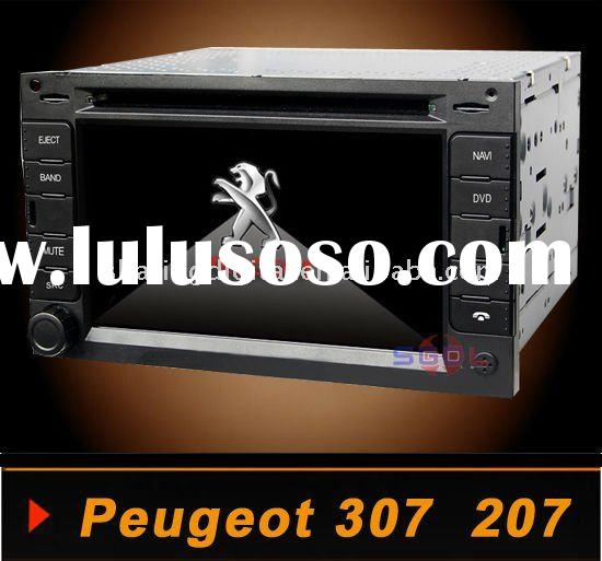 Peugeot 307 207 Touch screen Car DVD Player with GPS navigation