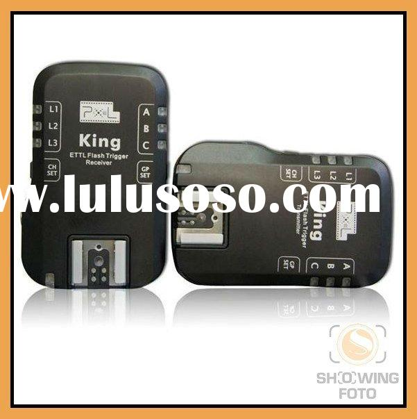 Pixel New Wireless Radio TTL Flash Trigger- King for Canon Digital slr Camera