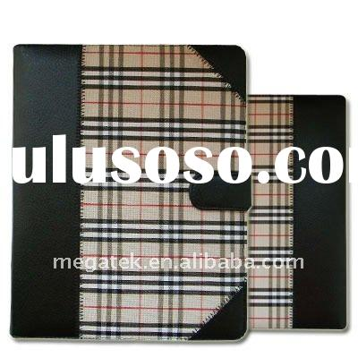 Plaid Leather case for Apple Ipad 2 2G