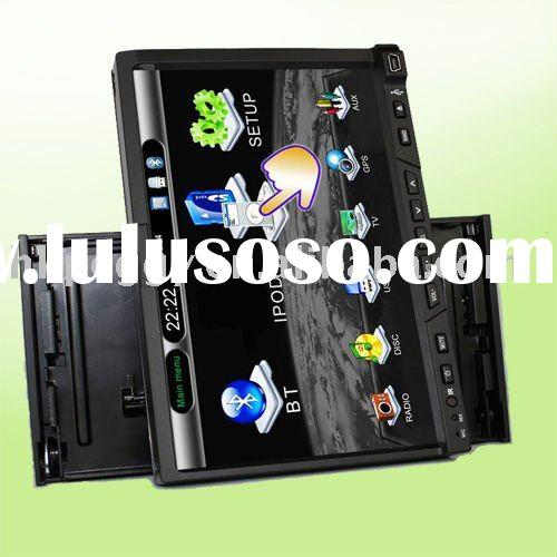 Popular 3D Menu Detachable Panel 2 DIN Touch screen Car DVD Player with bluetooth GPS AM FM and TV T