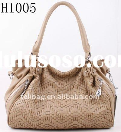 Popular Design Women 2012 Fashion Handbag Ladies Leather Bag New Arrival!!!