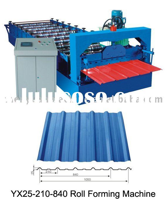 Producer! YX25-210-840 cold roll forming machine,metal processing line,rolling machinery of high qua