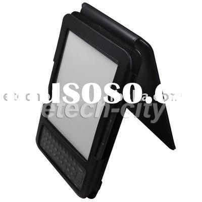 Professional Genuine Leather Case for Amazon Kindle 3 (Flip Type)