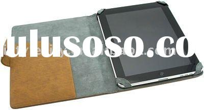 Professional Leather Padfolio Case for Apple iPad 2 (Beige)