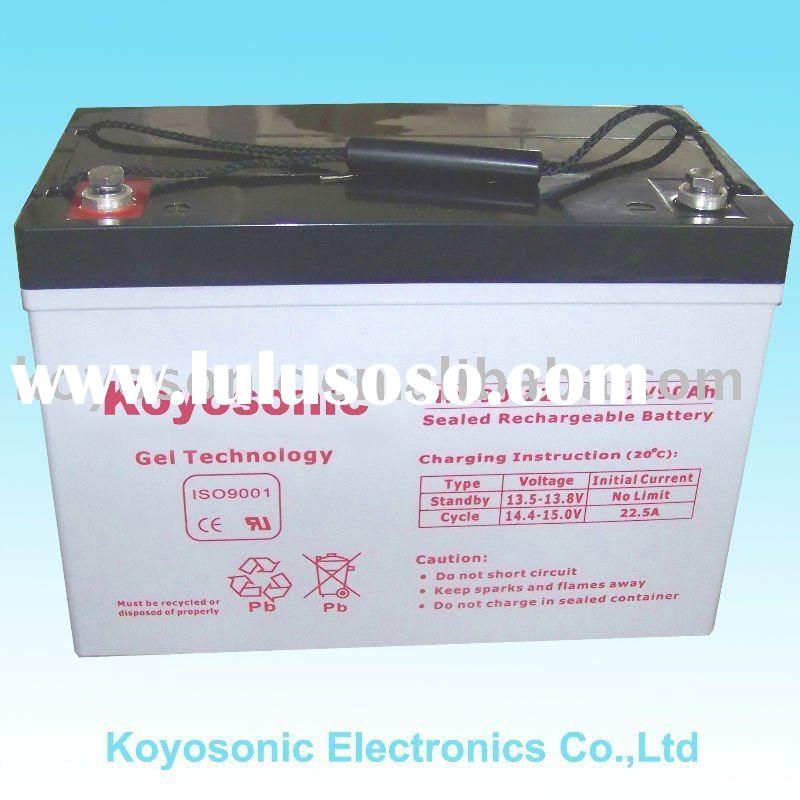 Professionally Producing Sealed Maintenance Free Lead Acid Gel Storage Battery (SLA Battery) -12V80A