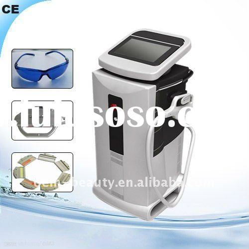 Promotion!! Vertical Salon IPL RF E-light ND Yag Laser Tattoo Hair removal Machine
