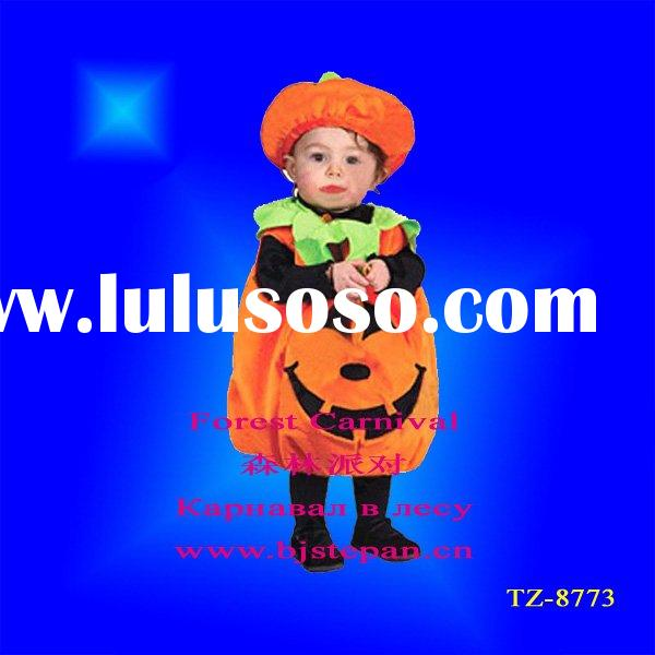 Pumpkin Halloween Costumes For Baby Infant TZ-8773