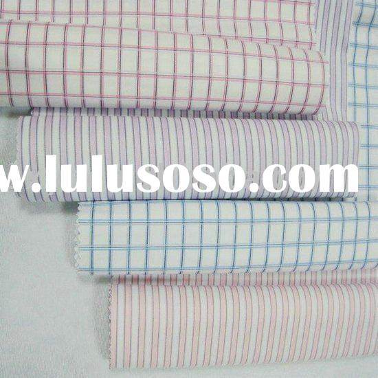Ready Goods,100% Cotton Yarn Dyed Fabric/Fabric Wholesale