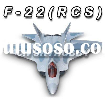 Remote control electric F-22 RC Airplane jet RTF kit