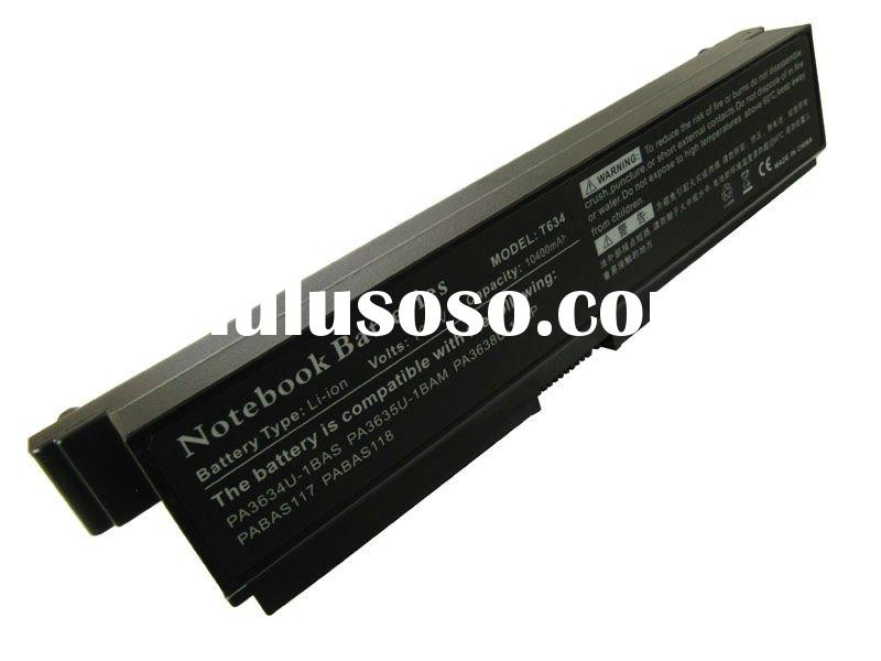 Replacement Laptop Battery For TOSHIBA Satellite Pro 3000 U400 A665 C665 L310 L655D PA3818U PA3728U-