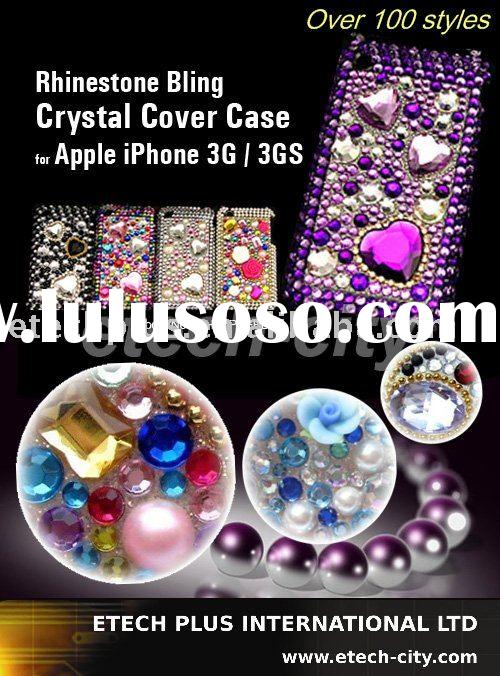 Rhinestone Bling Crystal Cover Case for Apple iPhone 3G / 3GS