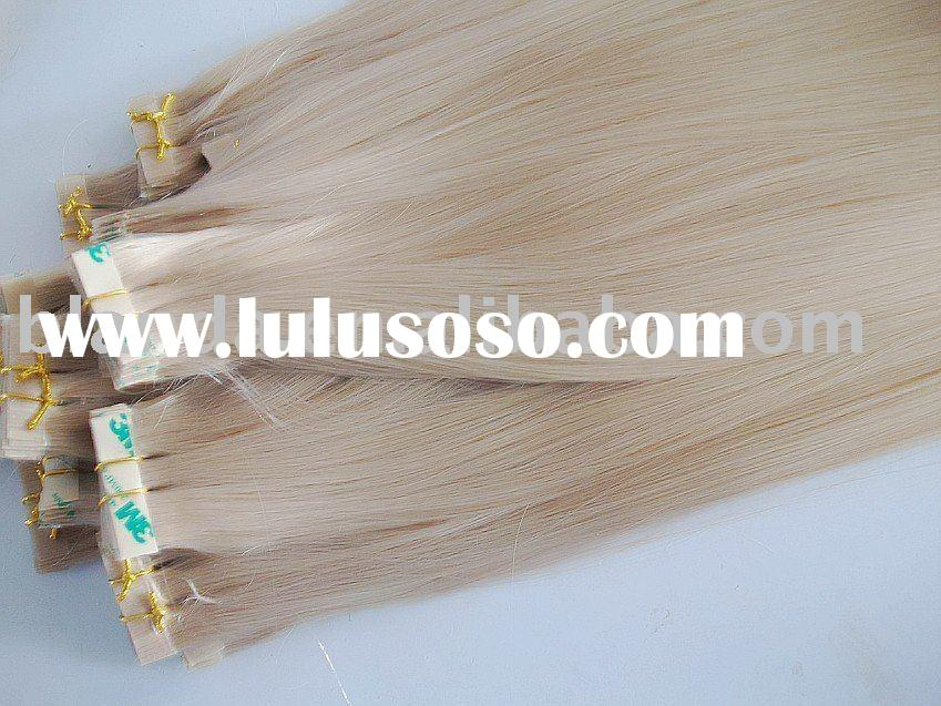 Russian Remy Pu tape Weft Hair extensions
