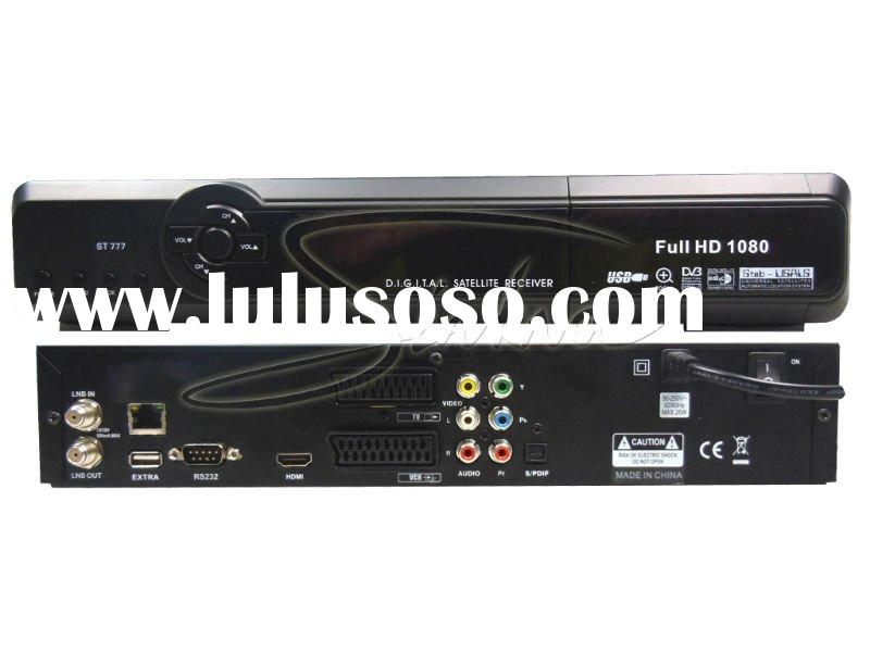 ST777 MPEG-4 H.264 high definition Set Top Box watch pay channel for FREE