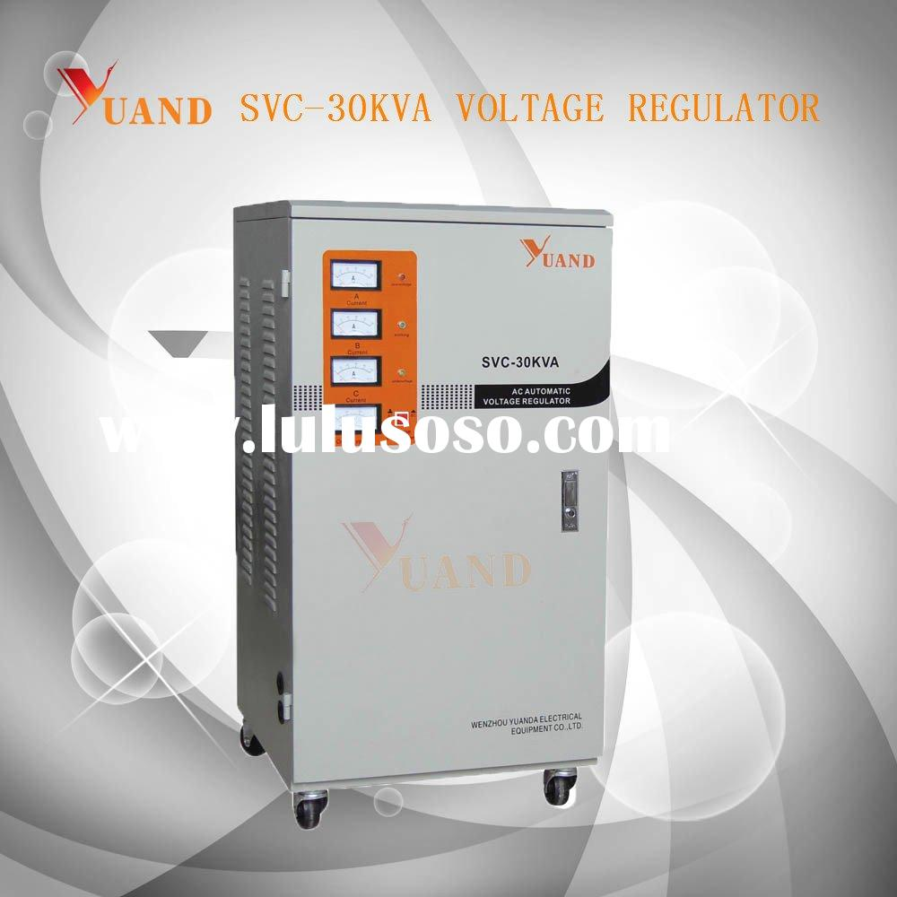 SVC-30 KVA Three-phase High Precision Full-auto AC Voltage Stabilizer