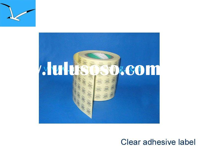 Self-adhesive Vinyl label