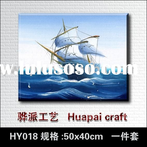 Ship printed painting,master's reproduction,group painting,canvas painting,wall decoration