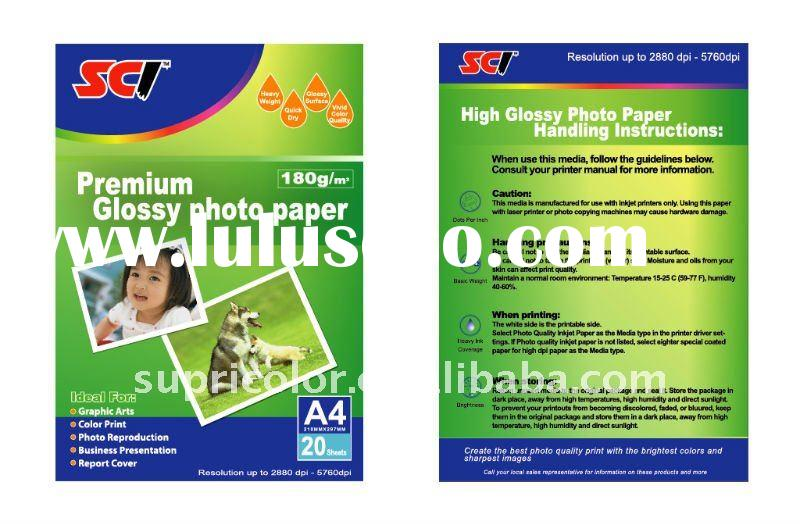 Silky Photo Paper A3/A4/Letter Size/A6/4R/Roll
