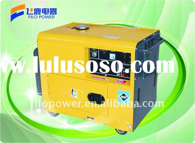 Small power portable Diesel Generator Set 2kw to 5kw