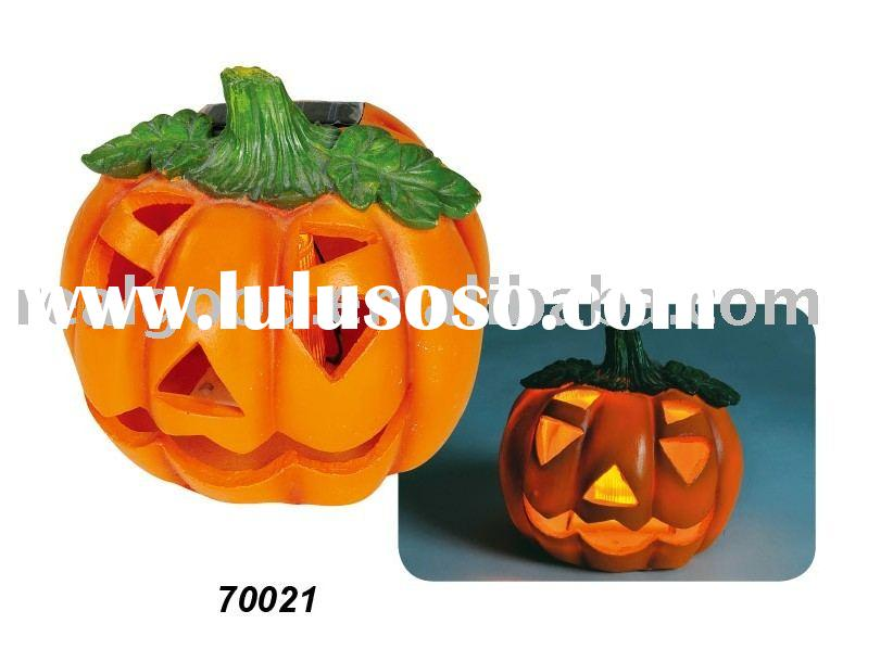 Solar Halloween Light, Halloween Solar Light, Solar Halloween Pumpkin Light, Model: 70021