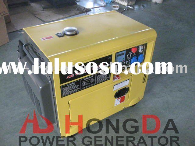 Soundproof Portable Diesel Generator Set