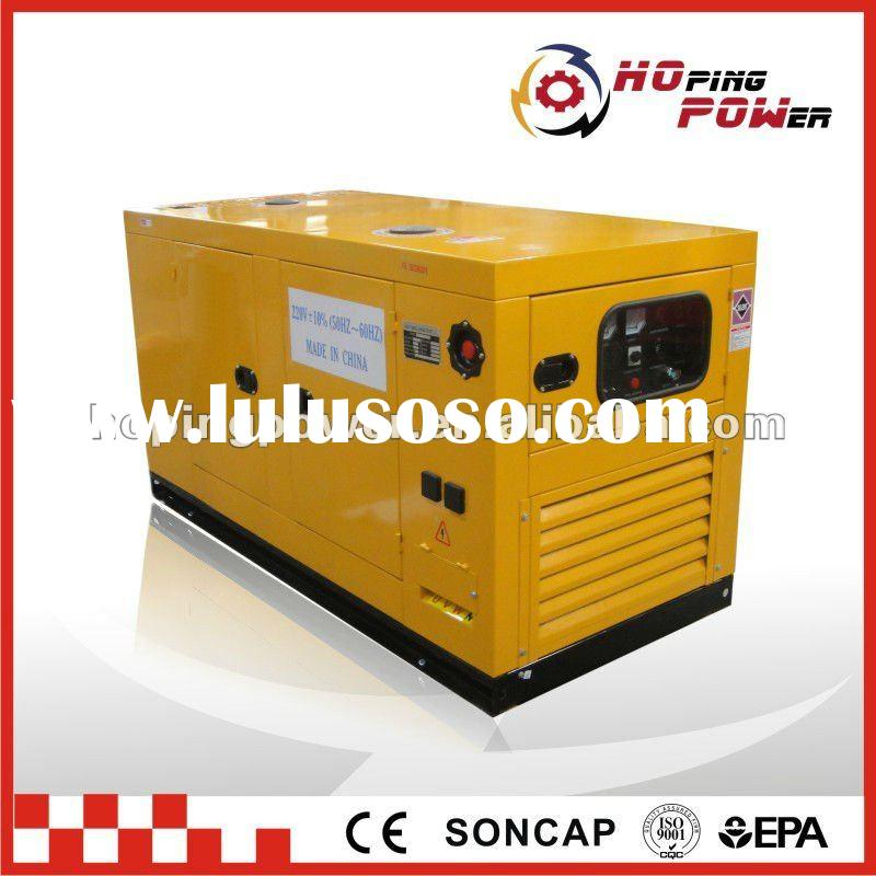 Soundproof diesel generator set