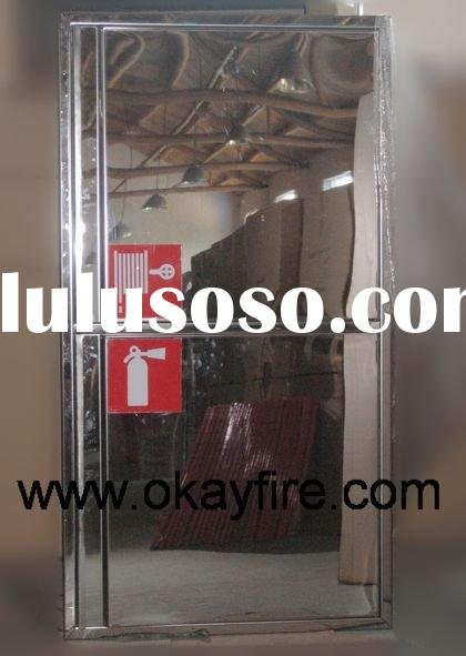 Stainless Steel Hose Reel and Fire Extinguisher Cabinet