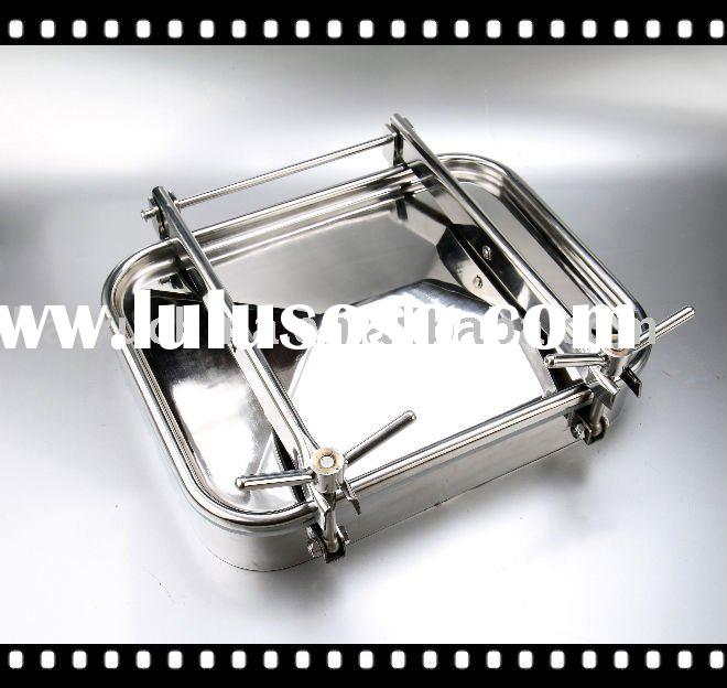 Stainless Steel Square Manhole Cover, Tank Manway Cover