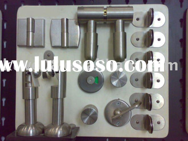 Stainless steel toilet partition hardware accessories