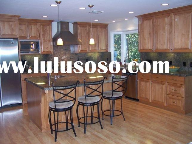 Standard Kitchen Cabinets/Kitchen Cabinet/Kitchen Furniture/Kitchen Cabinetry with Granite Counterto