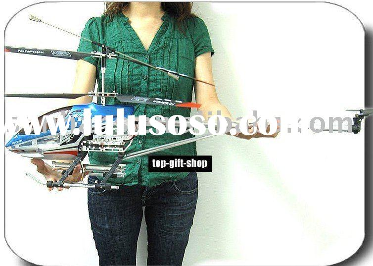 Super size 91cm Sky King Metal gyro 3.5ch remote control helicopter with LED lights 3.5ch RC plane t