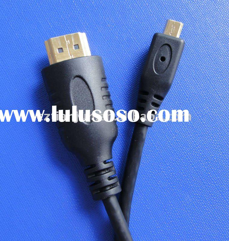 TJ5001 3D hdmi to HDMI with 24k gold-plated cable