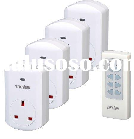 TW68E(1V4) Wireless Remote control socket, RF Frequency 433.92MHz, UK plug-in
