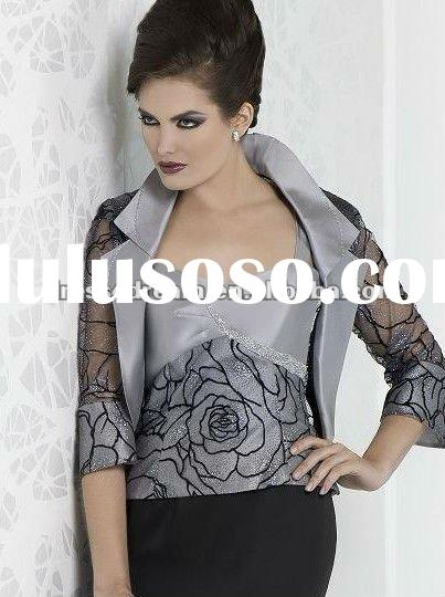 The latest designer church suits for women 2012 in Taffeta