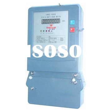 Three-Phase Static Electric Energy Meter