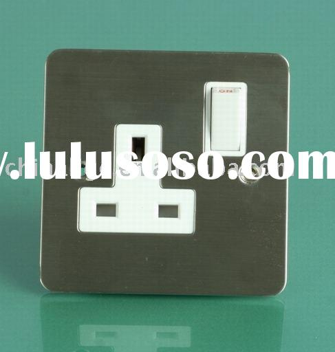 Three gang switch( wall socket, wall switch)
