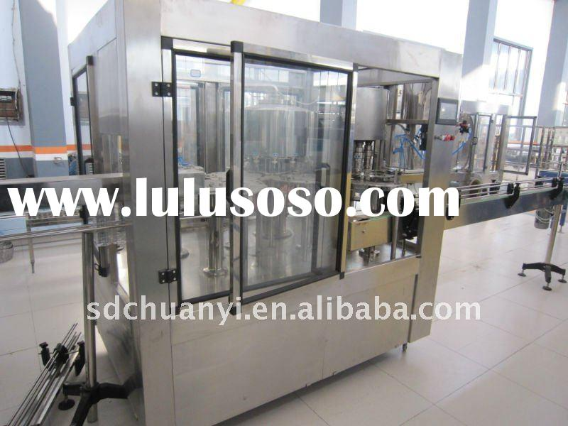 Three in one( filling,washing and capping) liquid filling machine