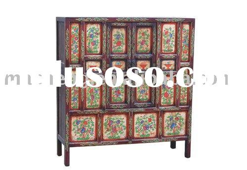Tibetan cabinet, tibetan furniture, antique furniture, ethnic furniture