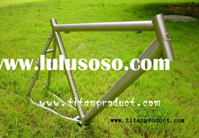 Titanium Cyclocross Frame with V Brake and Disc Brake