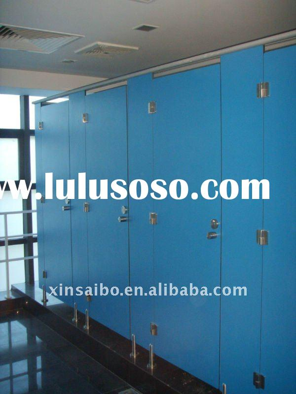 Toilet partition with stainless steel #304 accessories